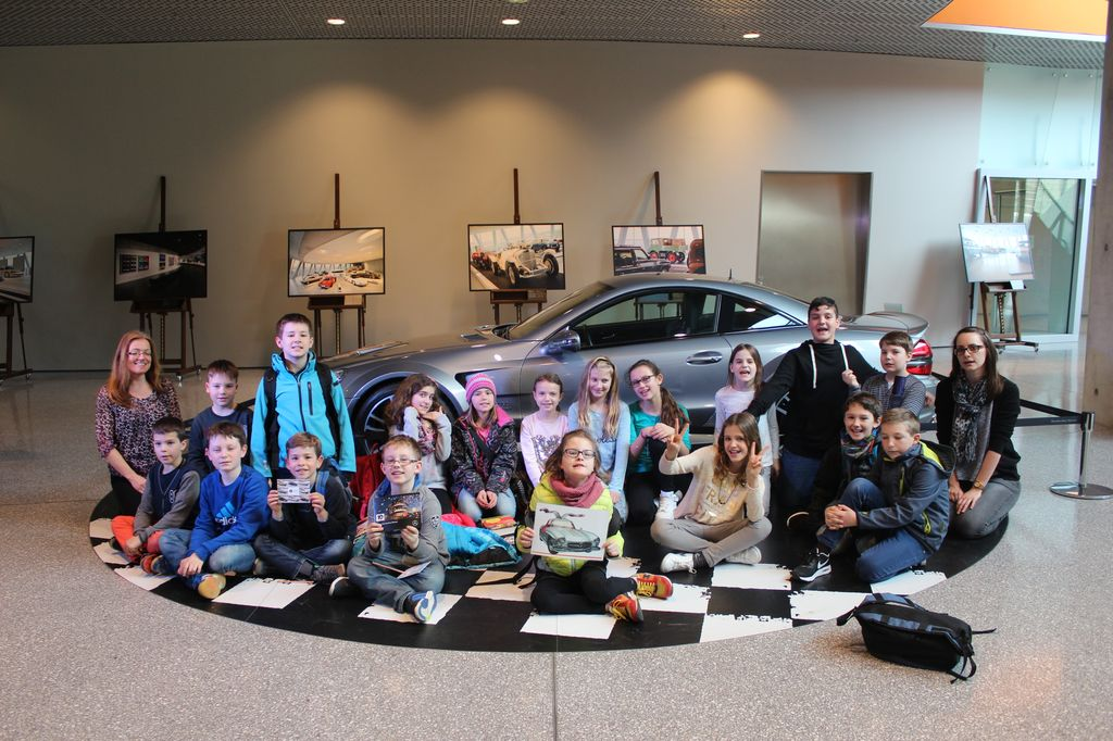 Besuch Daimler Museum